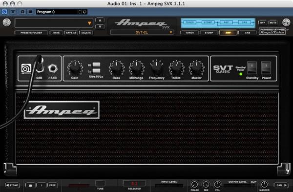 IK Multimedia - Ampeg SVX