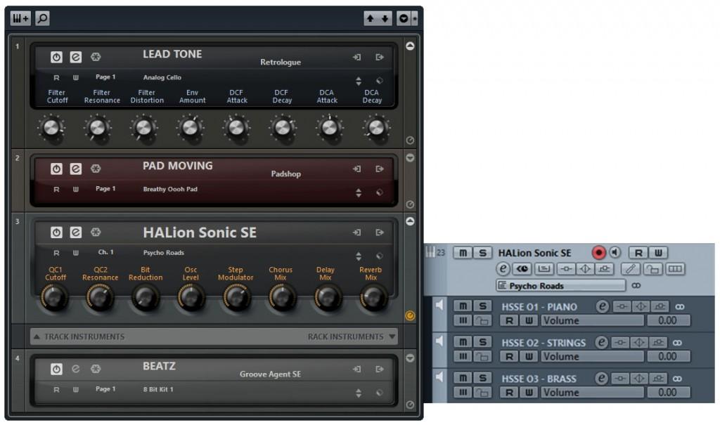 Cubase 7.5 Instrument (T)Racks