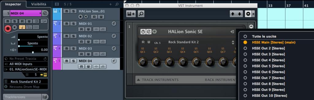 Instrument rack