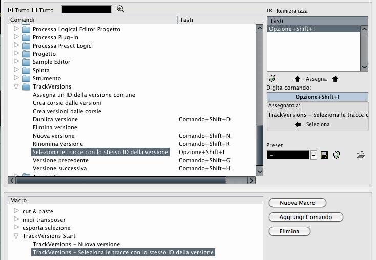 Le TrackVersions di Cubase 7.5 Figura 16