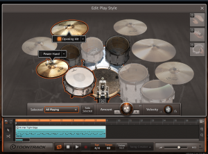 Toontrack EZ_Drummer 2 Edit Play Style