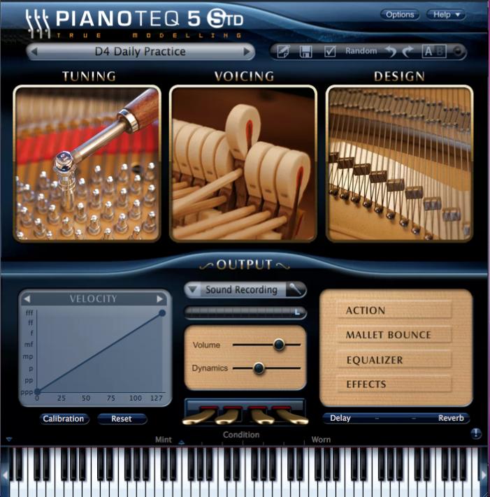 Figura 2: Moddart Pianoteq 5