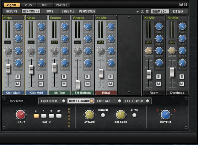 Mixer Groove Agent 4
