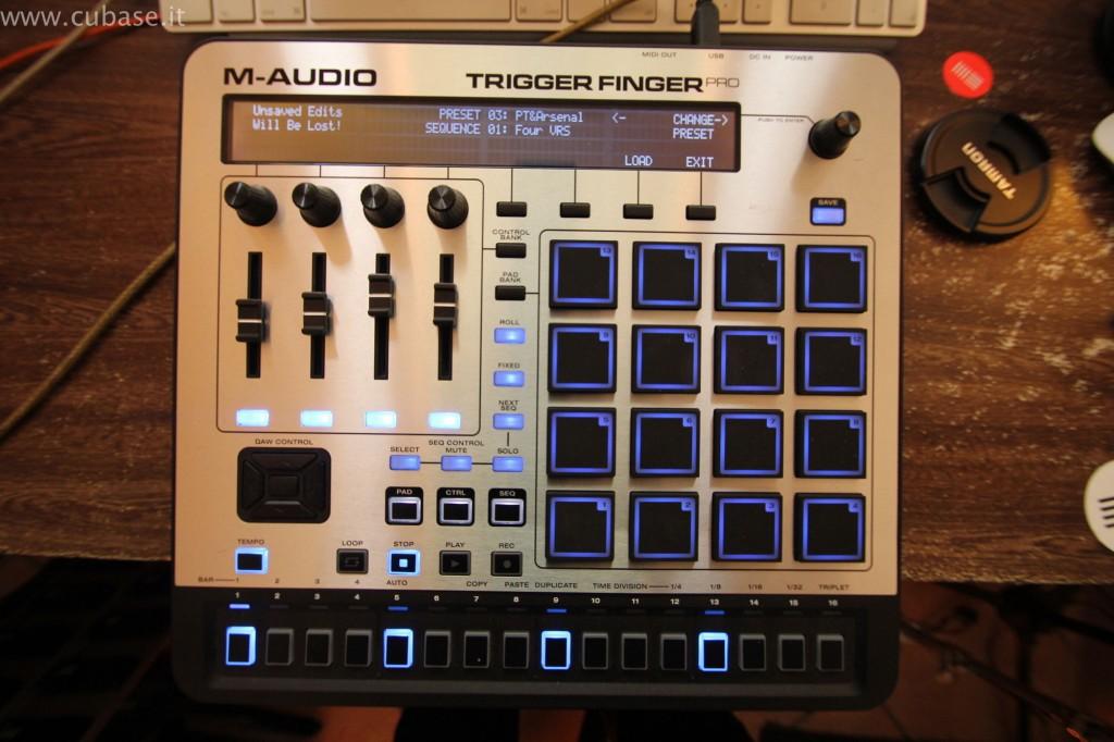 Totale M-Audio Trigger Finger Pro