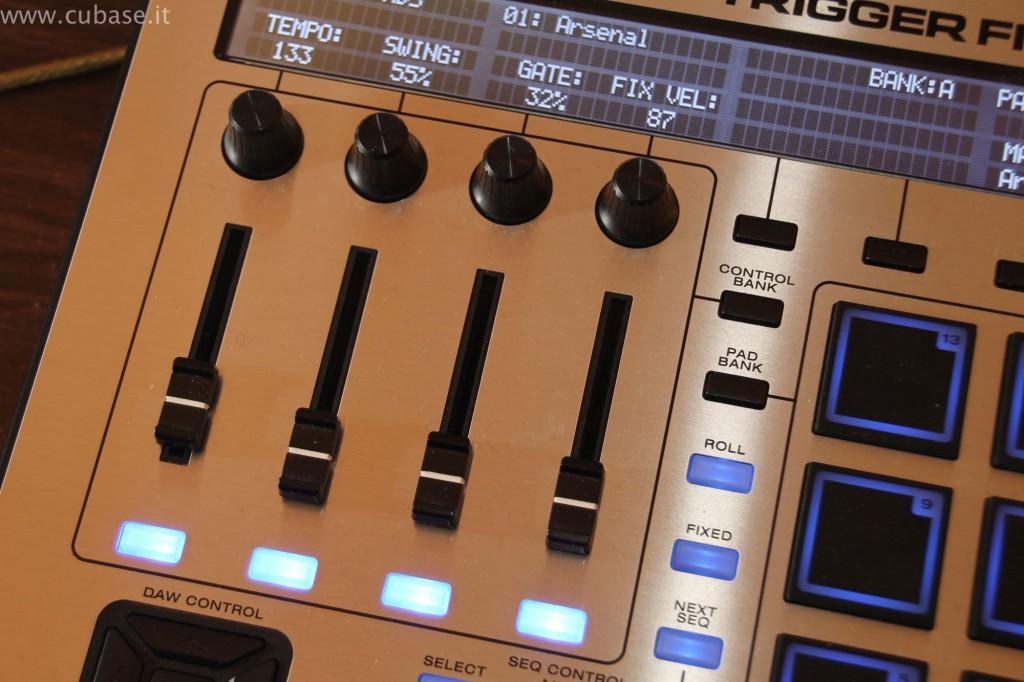 Cursori M-Audio Trigger Finger Pro