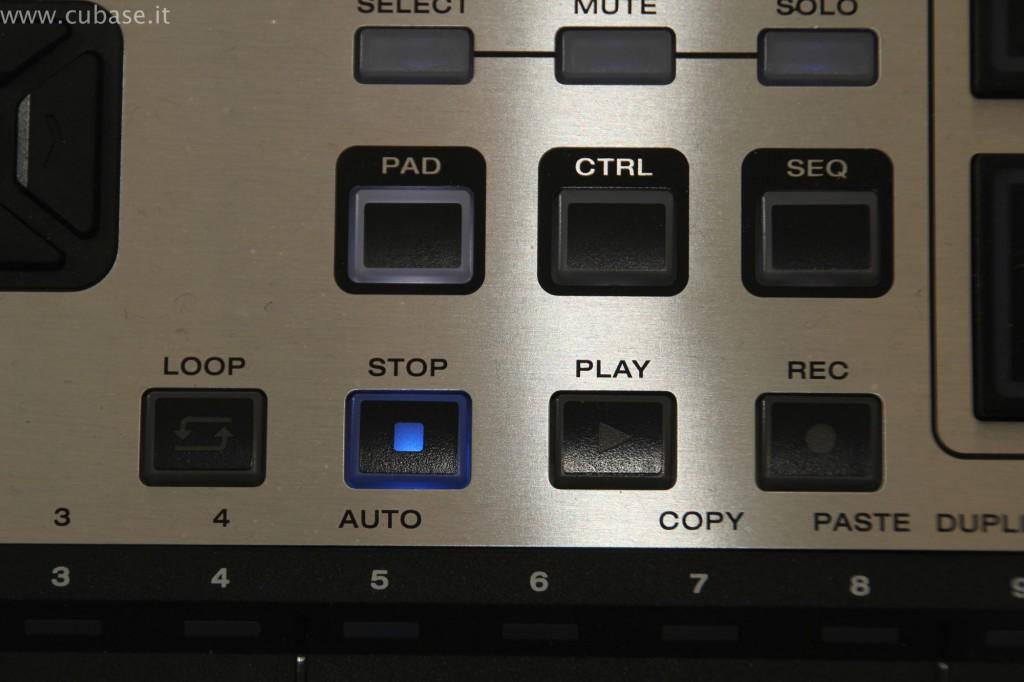 Tasti Programmazione M-Audio Trigger Finger Pro