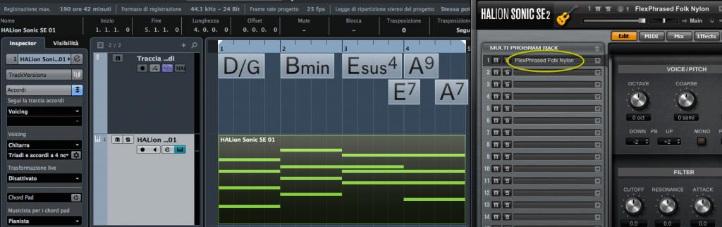 Cubase Pro 8 Chord Track Fig 11