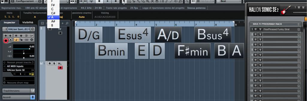 Cubase Pro 8 Chord Track Fig 12