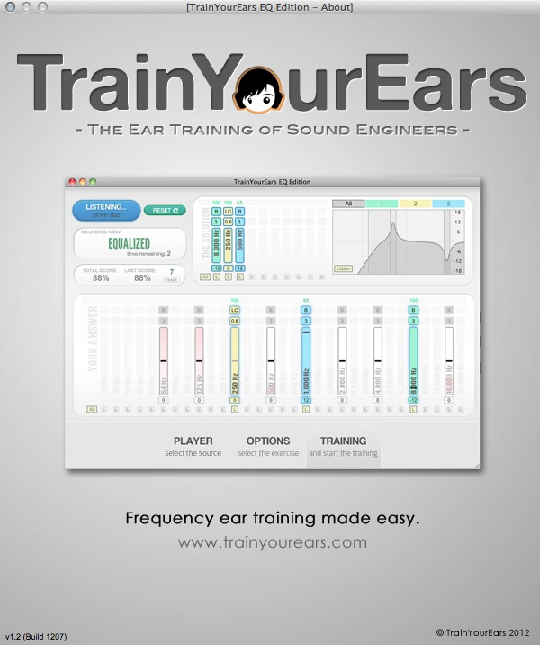 TrainYourEars About Box