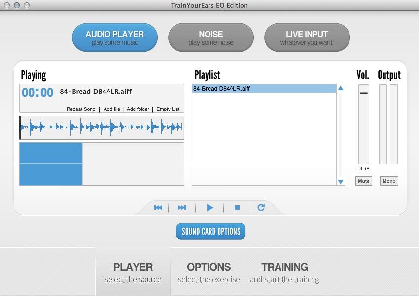 TrainYourEars Audio Player