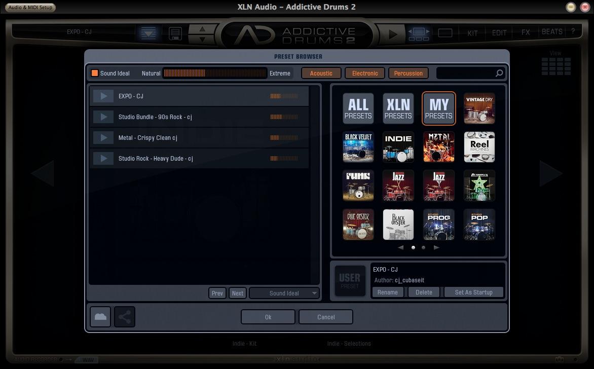 XLN Audio Addictive Drums Preset 2