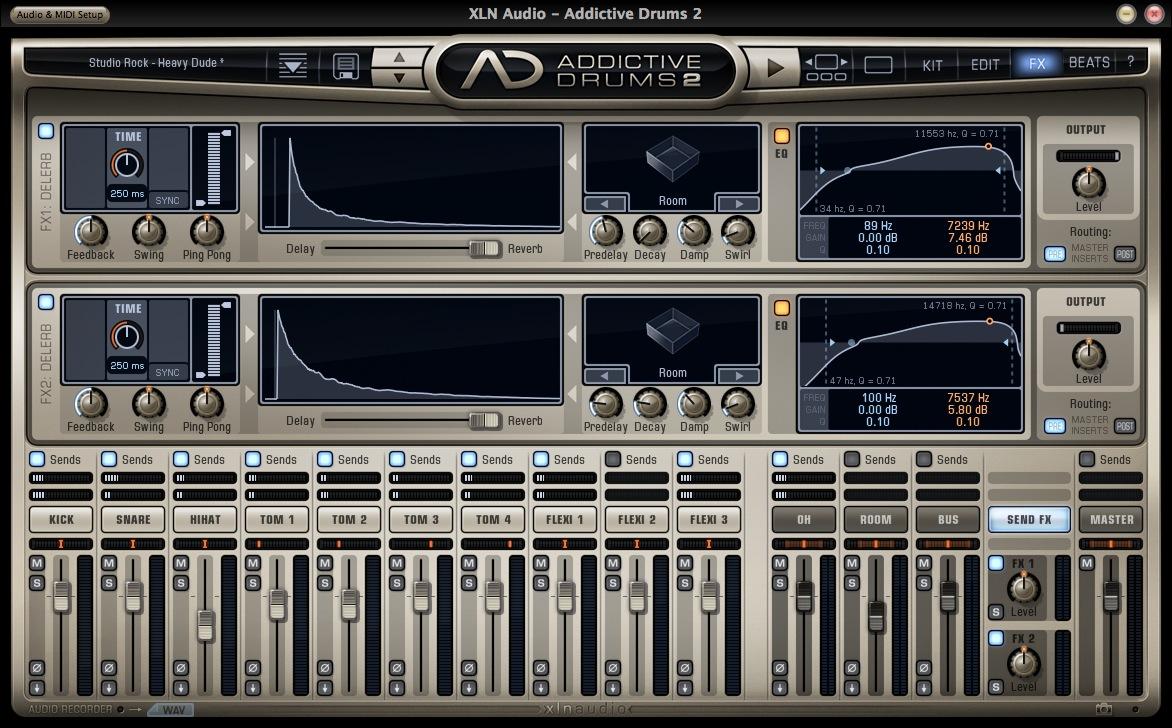 XLN Audio Addictive Drums DelVerb