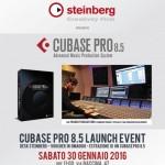 Partecipa alla presentazione di Cubase Pro 8.5 presso il Saint Louis Music Centre