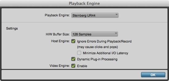 Playback Engine UR44