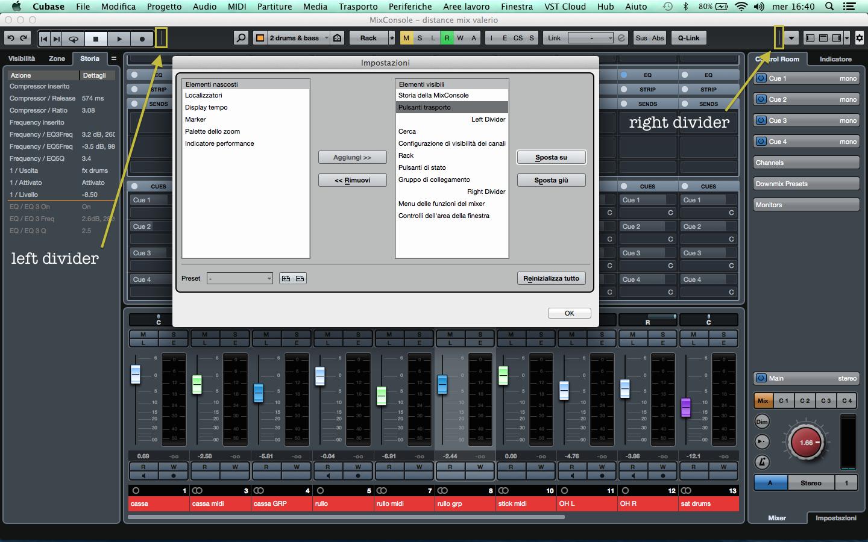Cubase Pro 9 MixConsole