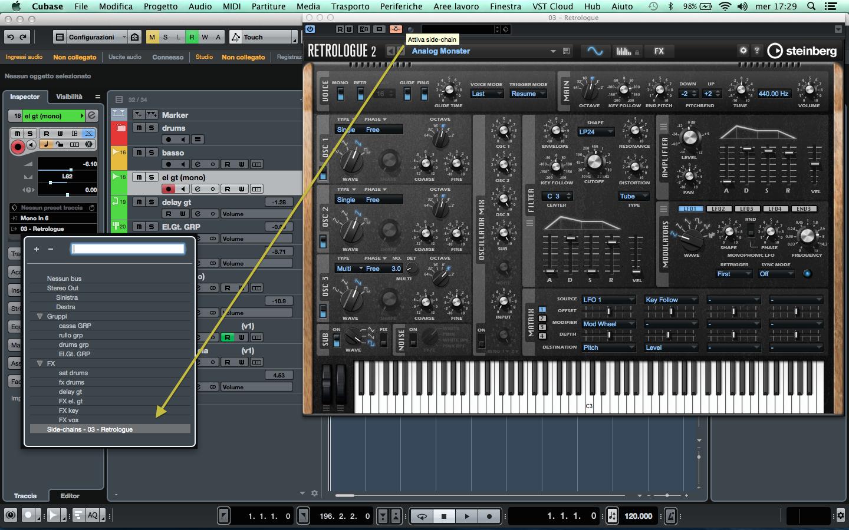 Cubase Pro 9 Audio ins